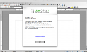 Install Libreoffice 3.4.5 in Ubuntu and LinuxMint via PPA