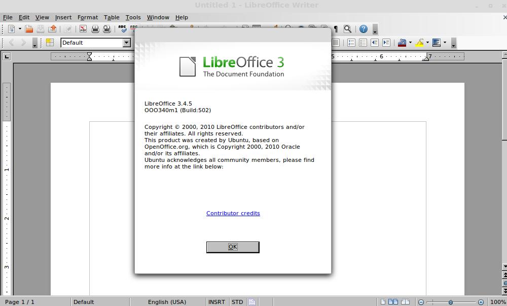 Install Libreoffice 3 4 5 in Ubuntu and LinuxMint via PPA
