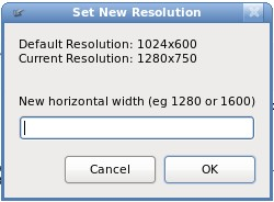 Newrez- A great nautilus script to change screen resolution to one higher than your display's physical dimensions