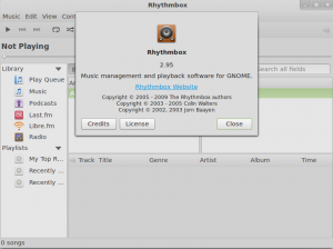 Rhythmbox 2.95 has been released!