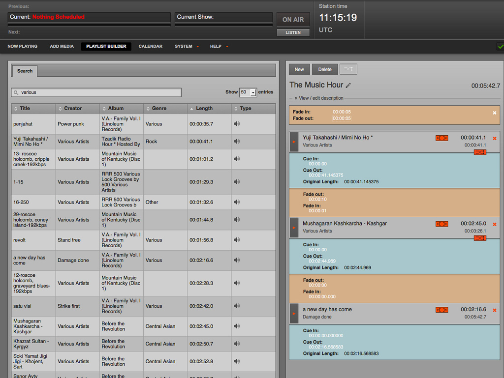 Airtime Sourcefabric Free Open Source Radio Automation