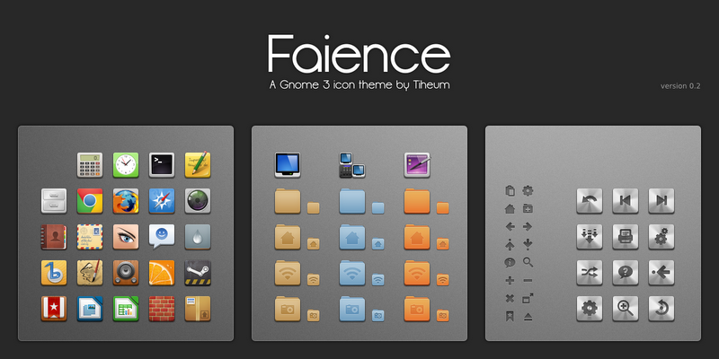 Nice collection of icon sets for your Linux Desktop with installation instructions| Ubuntu PPA