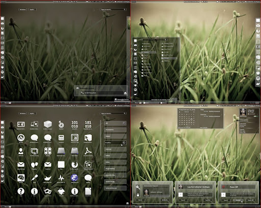 Tempered glass- Nice theme for Gnome shell and Cinnamon