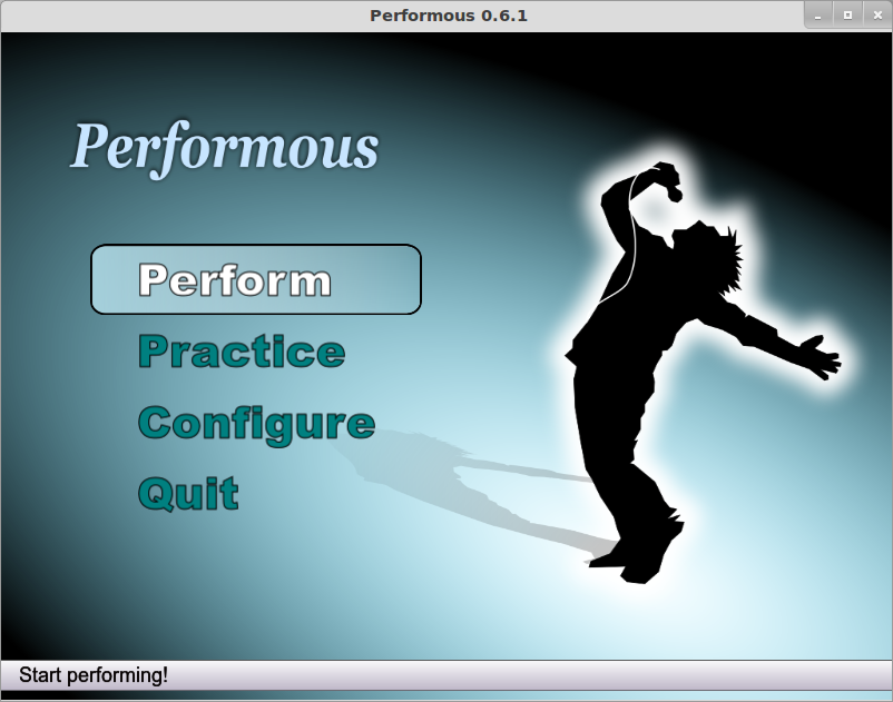 Improve your singing, piano, guitar skills with Performous