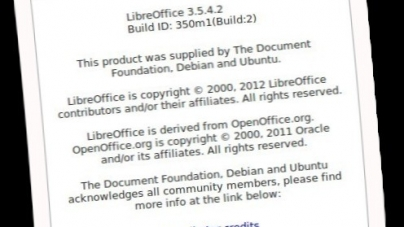 LibreOffice 3.5.4 comes with significant performance improvements | PPA