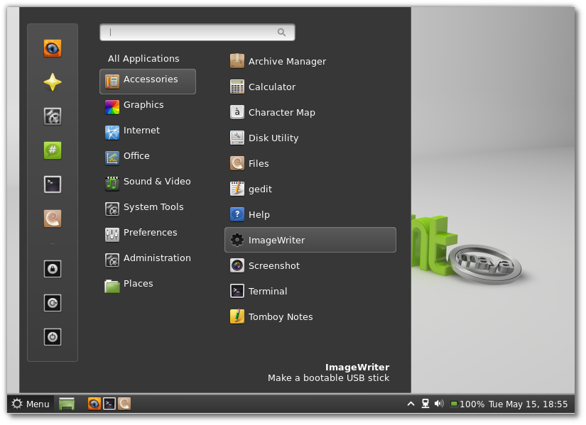 Gnome Linux Mint 13 - Bing images