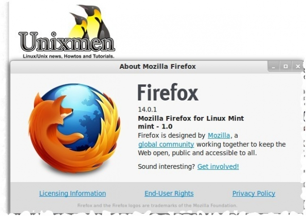 Mozilla Firefox 14.0.1 has been released!