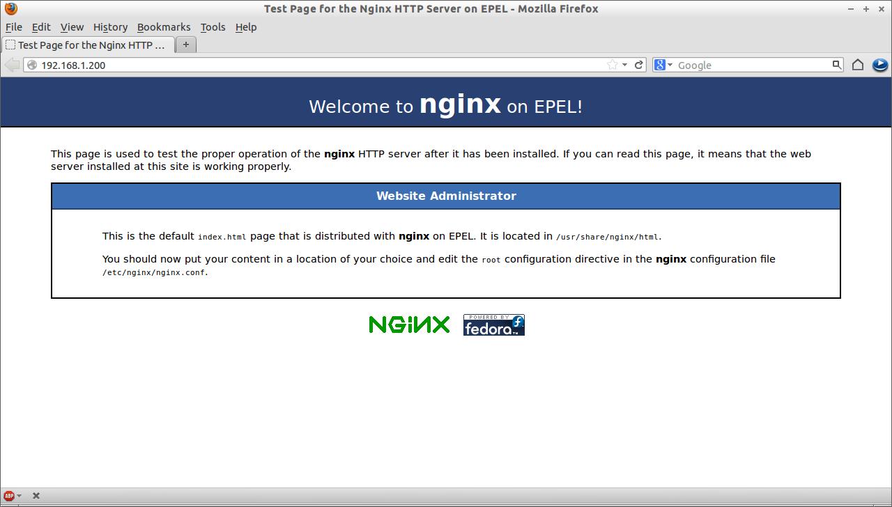 nginx php mysql installer centos