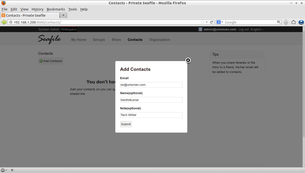 Contacts - Private Seafile - Mozilla Firefox_014