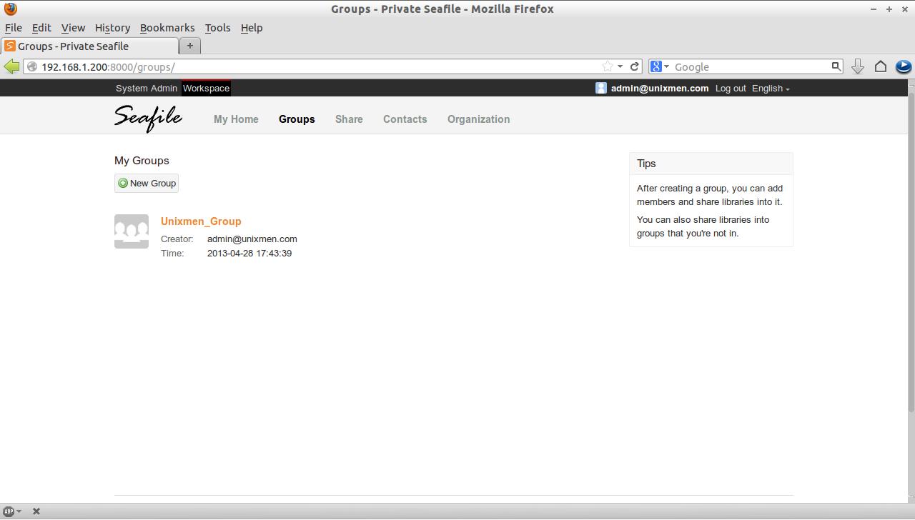 Groups - Private Seafile - Mozilla Firefox_009