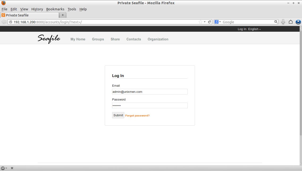 Private Seafile - Mozilla Firefox_001