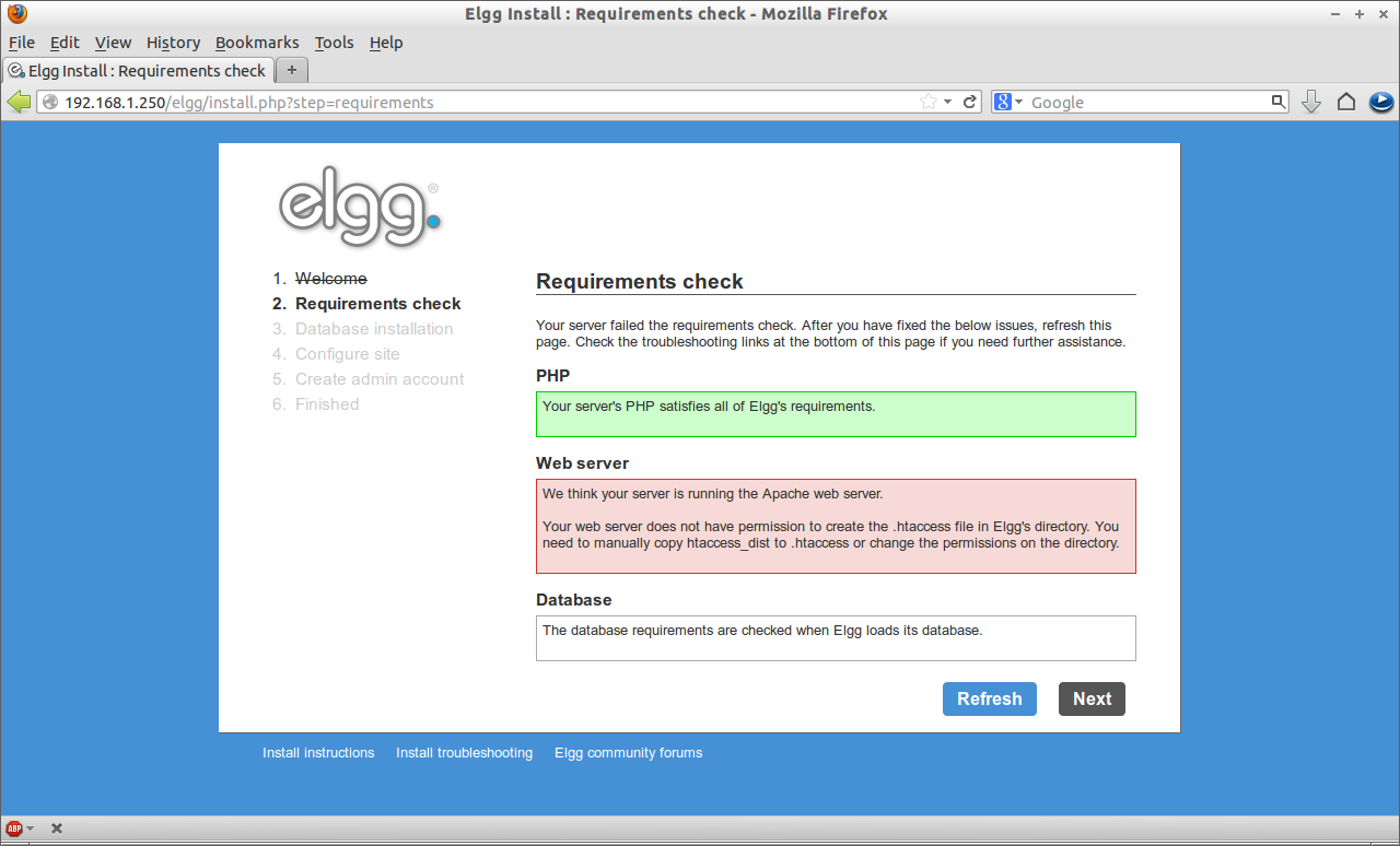Elgg Install : Requirements check - Mozilla Firefox_002