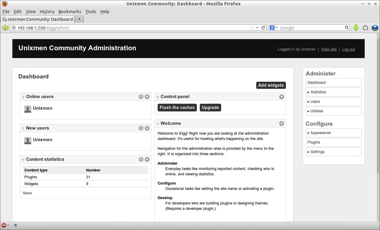 Unixmen Community: Dashboard - Mozilla Firefox_008