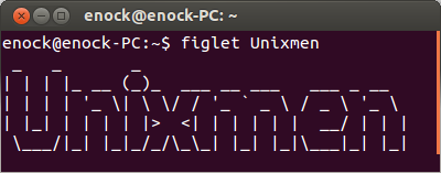 figlet-unixmen