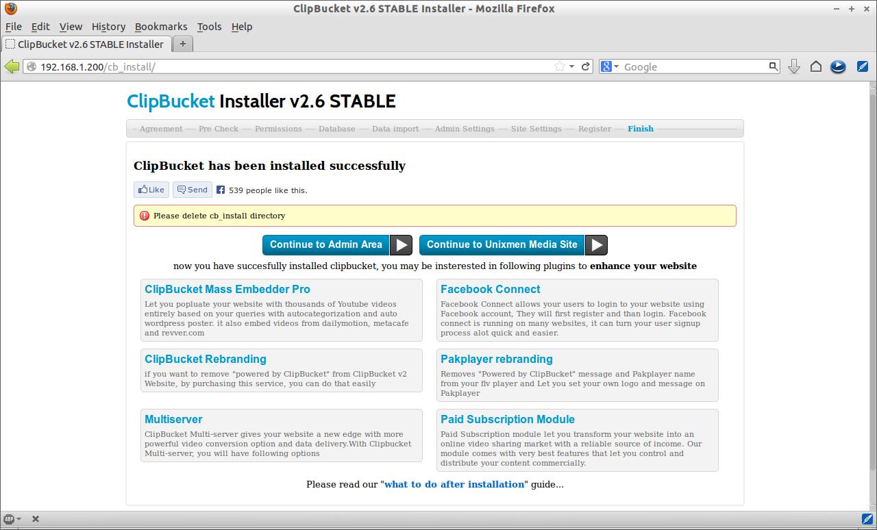 ClipBucket v2.6 STABLE Installer - Mozilla Firefox_008