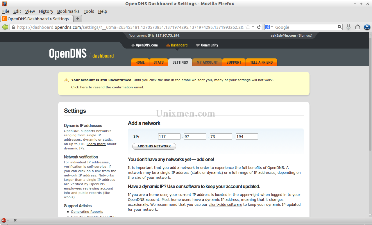 OpenDNS Dashboard - Settings - Mozilla Firefox_010