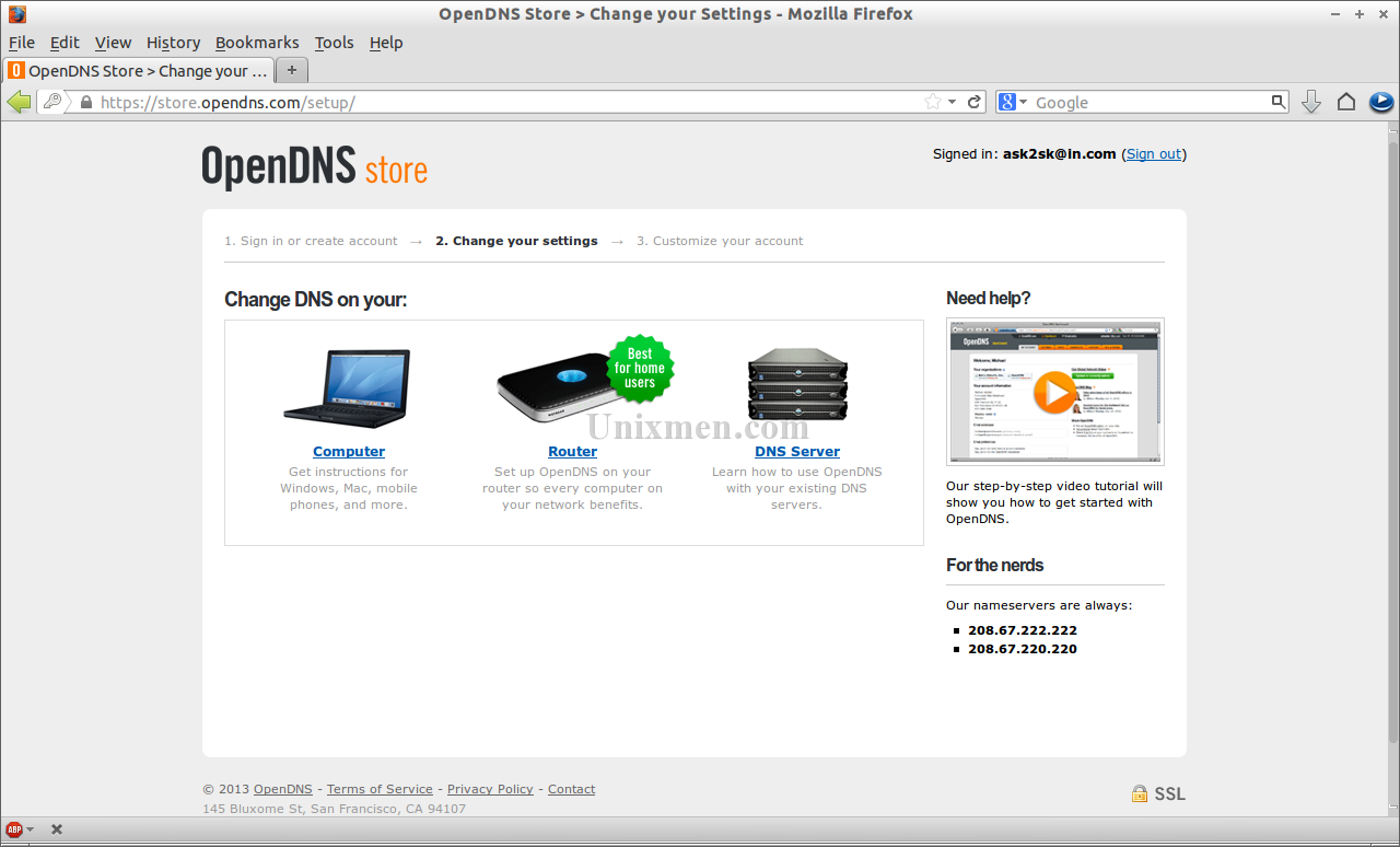 OpenDNS Store - Change your Settings - Mozilla Firefox_004