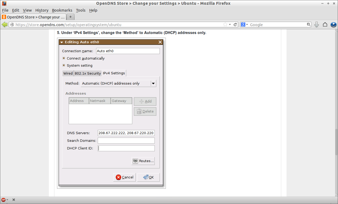 OpenDNS Store - Change your Settings - Ubuntu - Mozilla Firefox_006