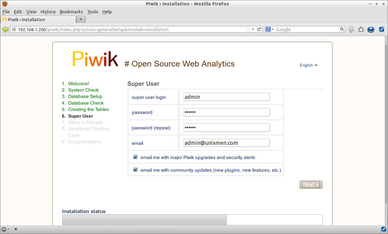 Piwik › Installation - Mozilla Firefox_006