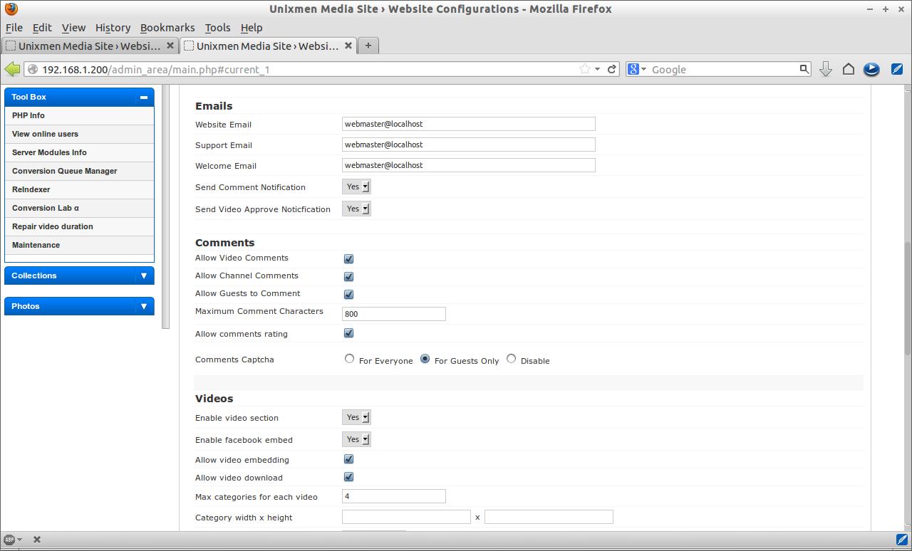 Unixmen Media Site › Website Configurations - Mozilla Firefox_021