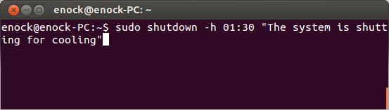 schedule-shutdown