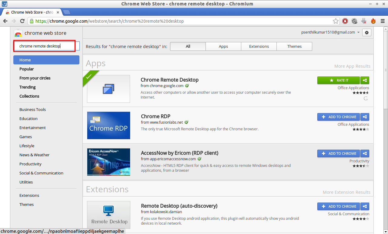 Chrome Web Store - chrome remote desktop - Chromium_016