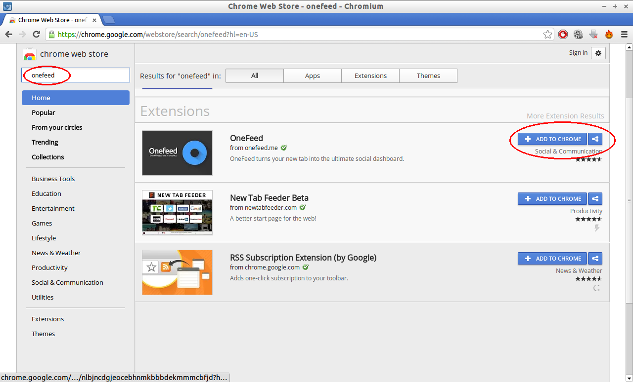 Chrome Web Store - onefeed - Chromium_003