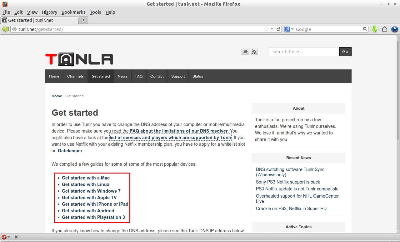 Get started | tunlr.net - Mozilla Firefox_010