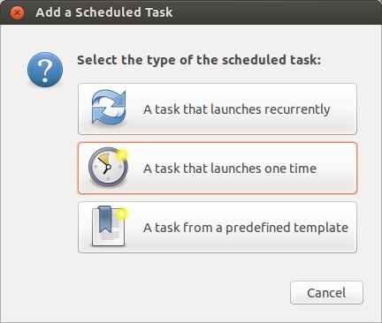 Gnome-schedule-tasks