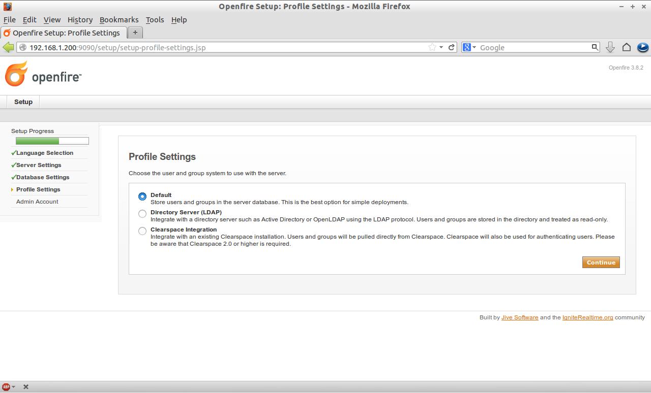 Openfire Setup: Profile Settings - Mozilla Firefox_012