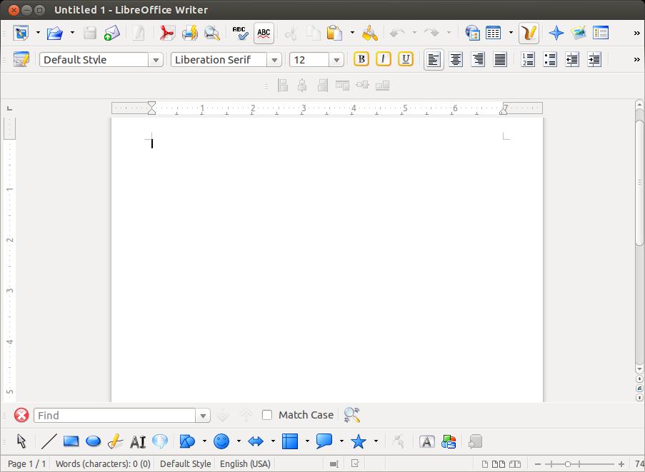 libreoffice-4.1-writer-unixmen