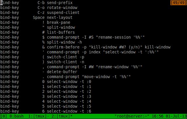 tmux a terminal multiplexer unixmen