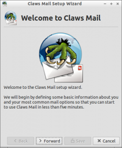 Claws Mail Setup Wizard_003
