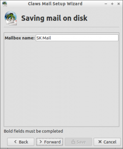 Claws Mail Setup Wizard_007