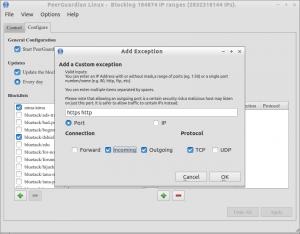 PeerGuardian Linux - Blocking 184874 IP ranges (2832318144 IPs)._002
