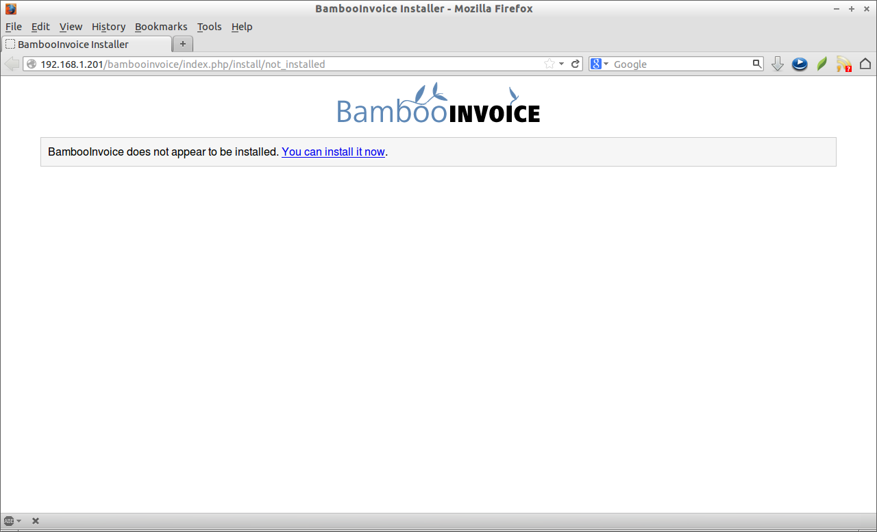 bambooinvoice: a simple, opensource online invoicing software, Invoice examples