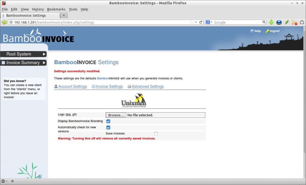 BambooInvoice: Settings - Mozilla Firefox_007