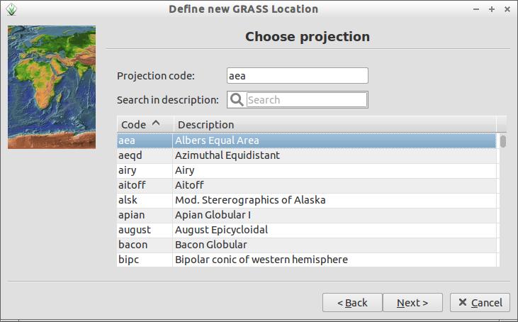 Define new GRASS Location_006