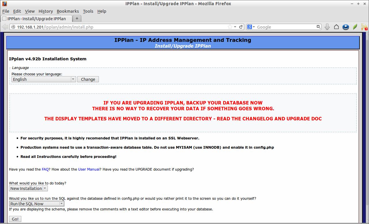 Ipplan An Ip Address Management System Unixmen Coming across unknown ip addresses. ipplan an ip address management
