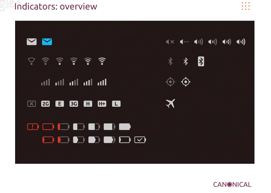 Ubuntu 14.04 LTS: Pictures of First Set of Proposed New Icons