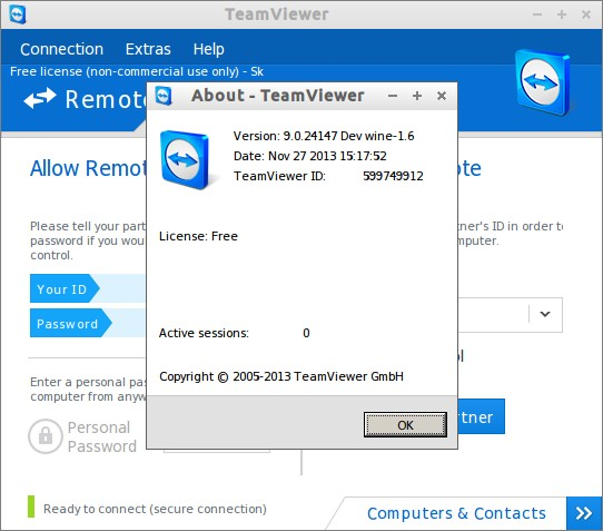 how to connect two computers through internet software download free