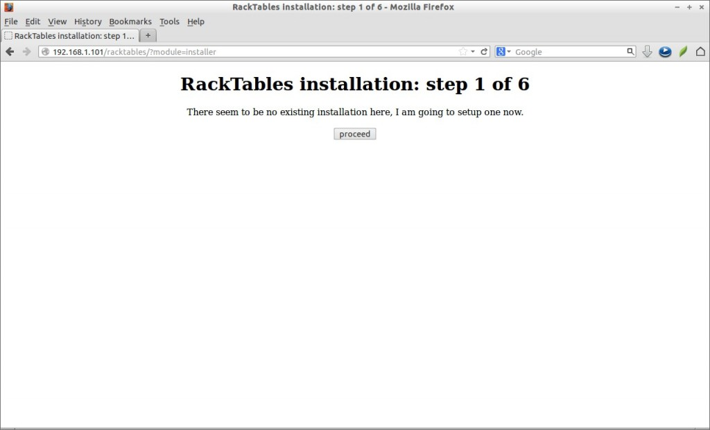 RackTables installation: step 1 of 6 - Mozilla Firefox_002