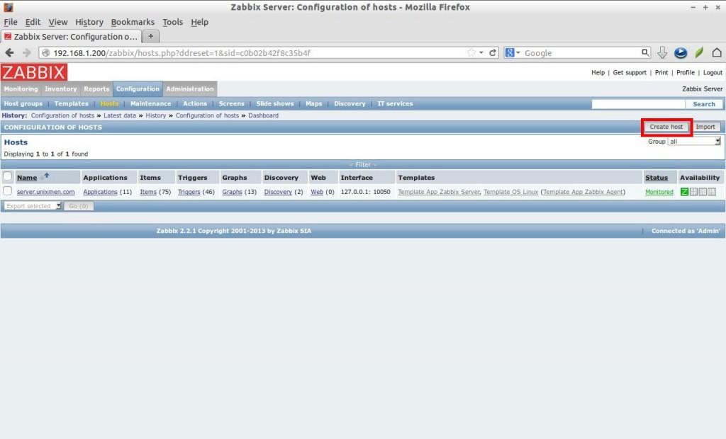 Zabbix Server: Configuration of hosts - Mozilla Firefox_031