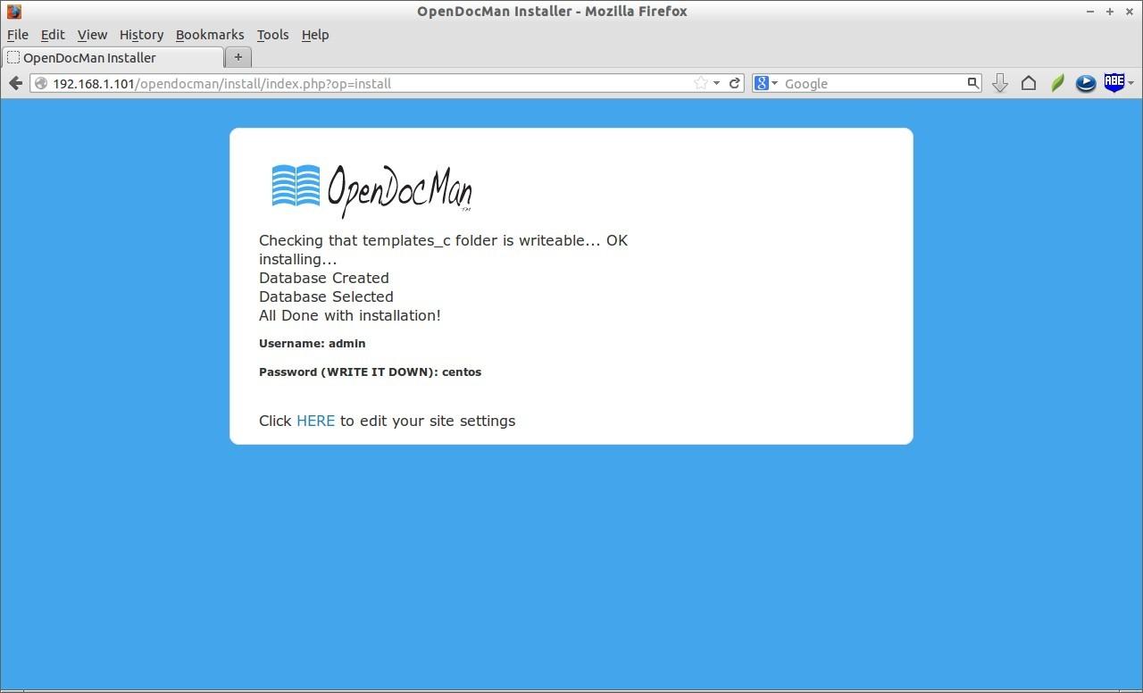 OpenDocMan Installer - Mozilla Firefox_007