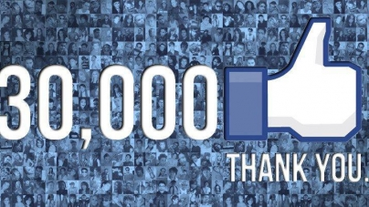 Oh Yeah! We Are Growing! 30,000 Fans On Facebook!