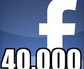 40,000 Facebook Fans – Thank you All