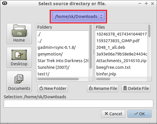 Select source directory or file._010