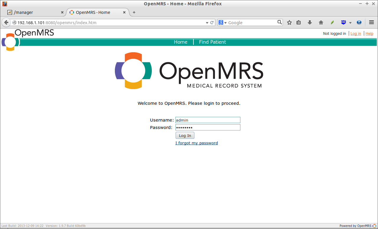 OpenMRS - Home - Mozilla Firefox_001