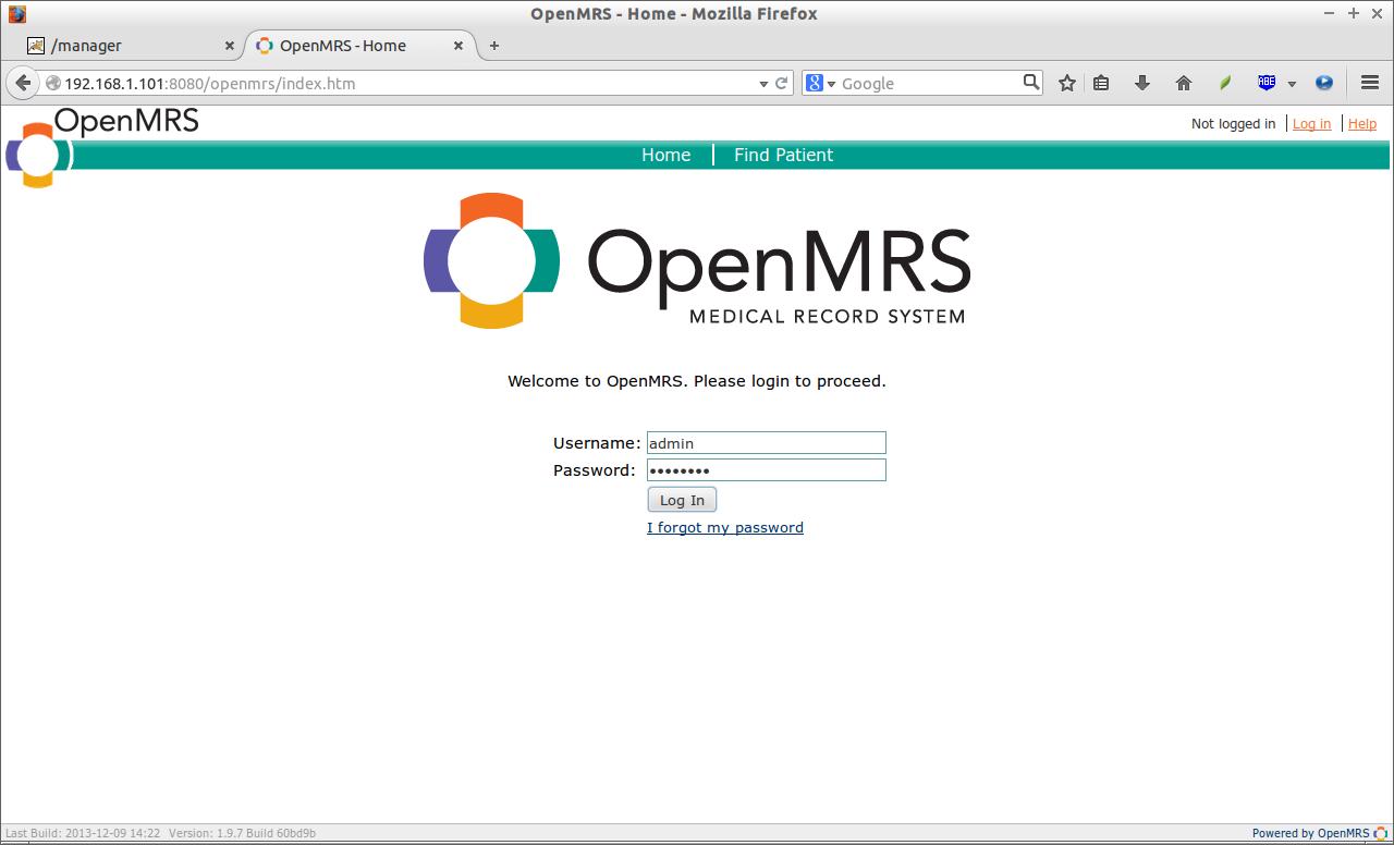 OpenMRS - Home - Mozilla Firefox_001
