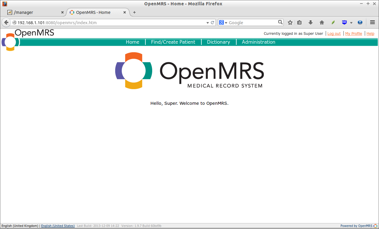 OpenMRS - Home - Mozilla Firefox_002